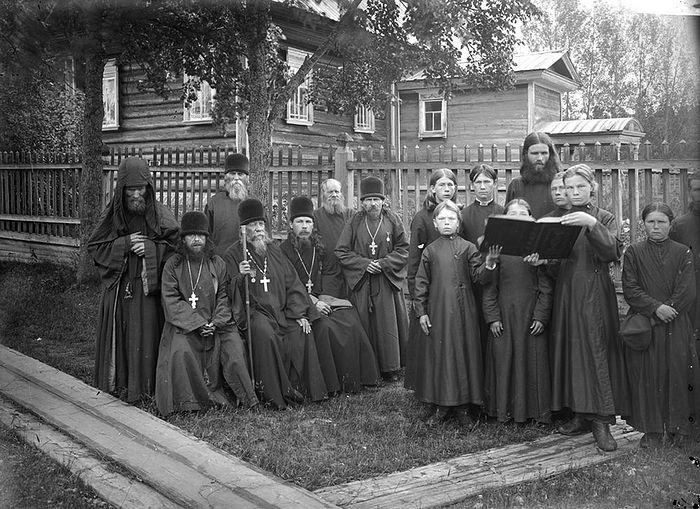 Благовещенский Керженский единоверческий монастырь. 1897 г.